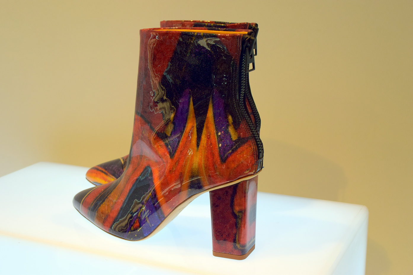 H&M Multicolored ankle boots
