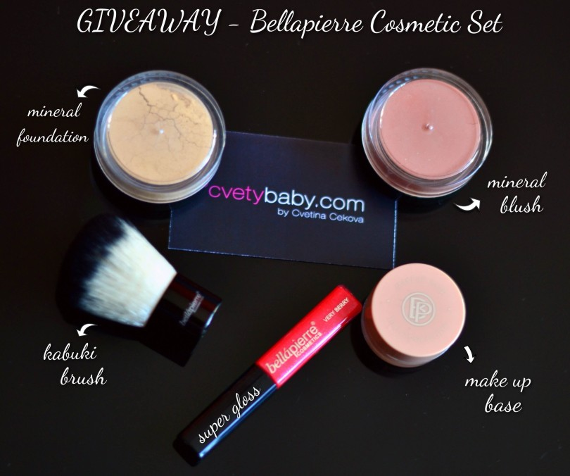 Giveaway Bellapierre Cosmetic set
