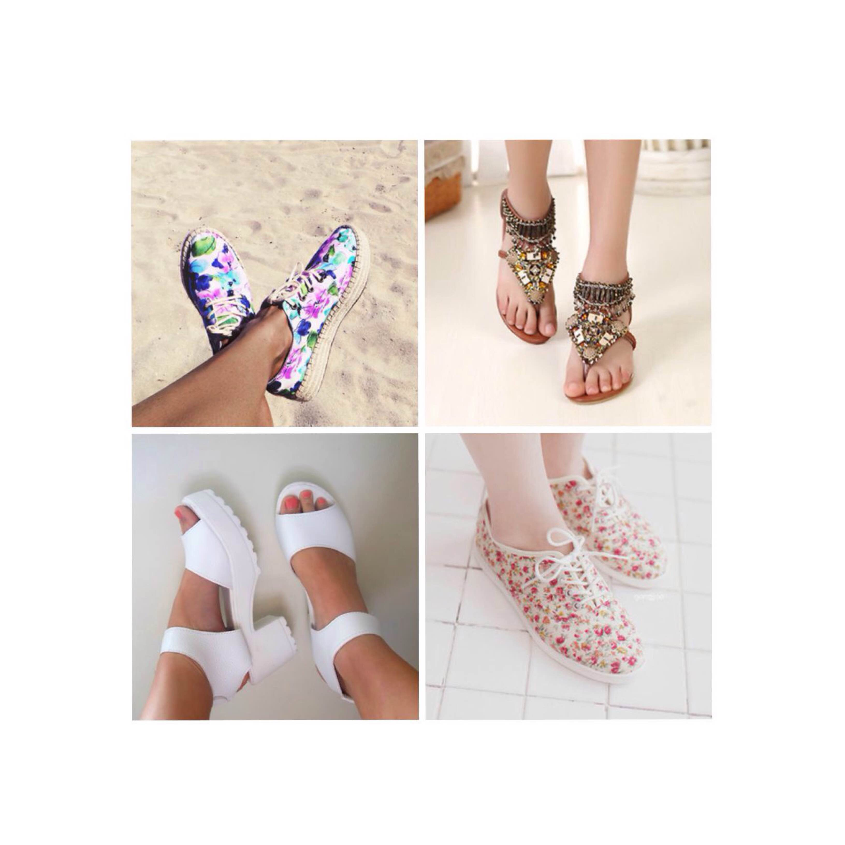 Summer party style shoes
