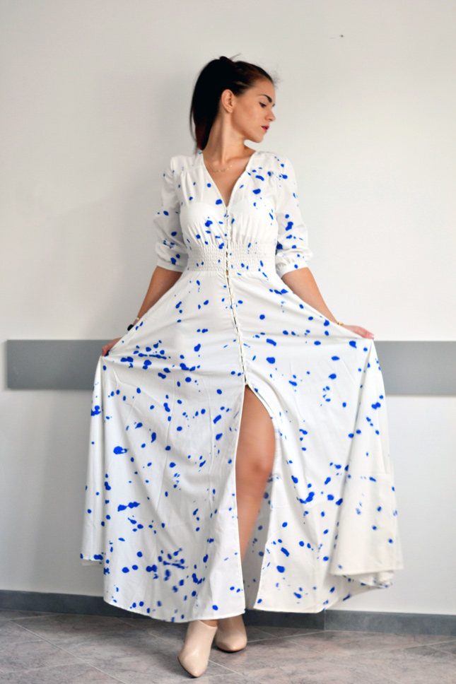 Choies-blue-and-white-maxi-dress