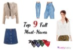 Top 9 Fall must haves