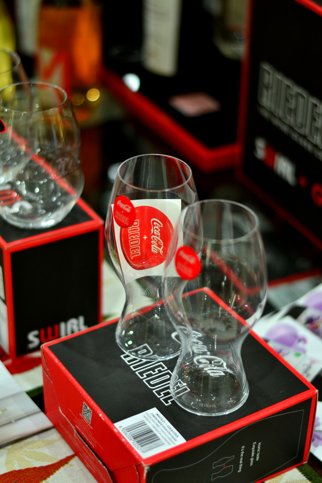 RIEDEL--coca-cola-glasses