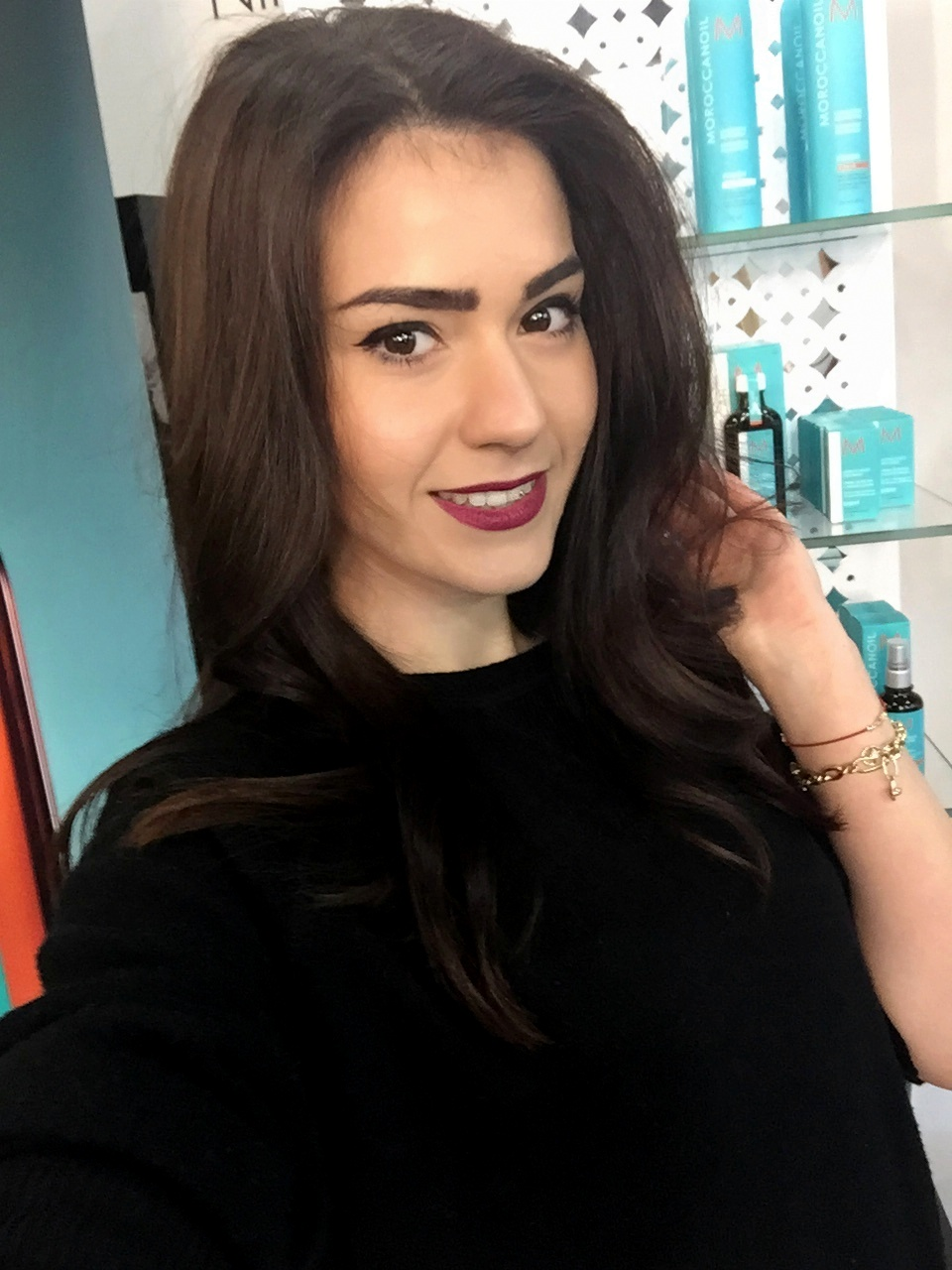 Bulgarian beauty blogger