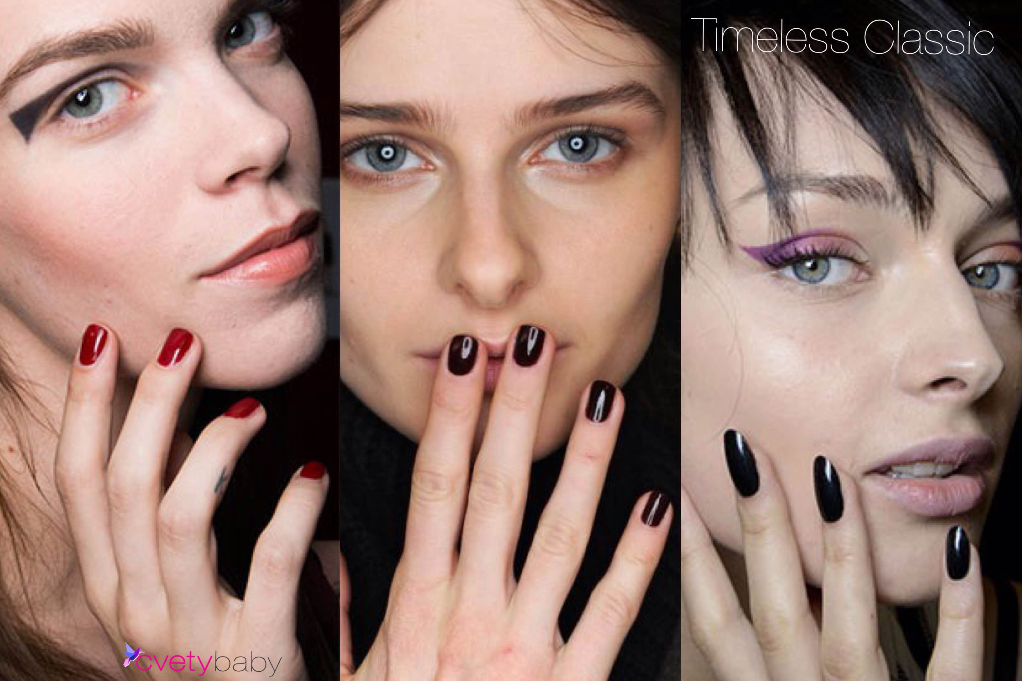 Nail polish trends 2016 timeless classic manicure