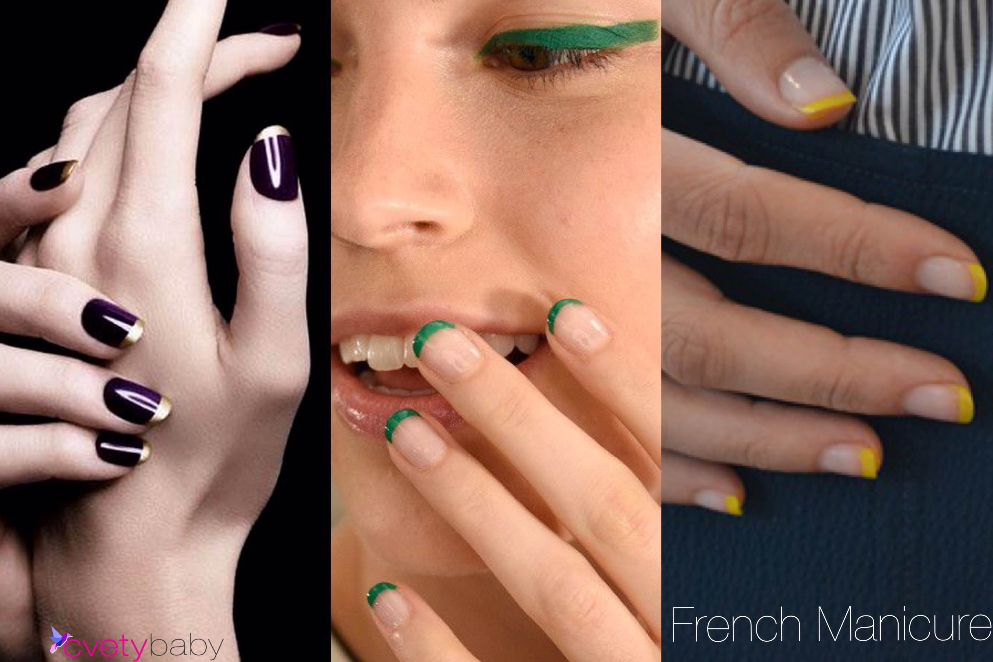 Nail trend 2016 french manicure