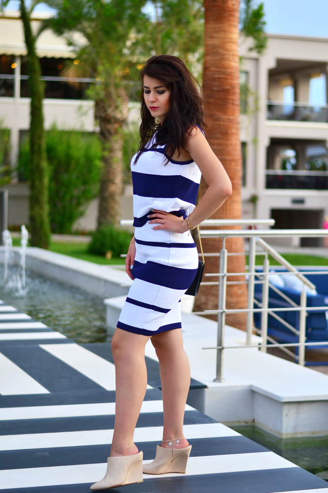 Striped-two-piece-set-Romeo-&-Juliet-Couture