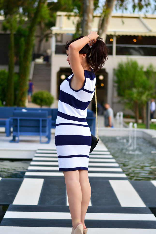 Striped-two-pieces-set